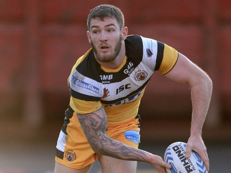 Daryl Clark was one of the try scorers for Castleford