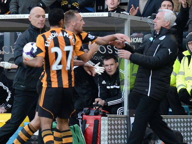 Meyler and Pardew clash at the KC Stadium