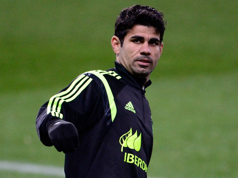 Diego Costa: Lasted less than 10 minutes of Champions League final