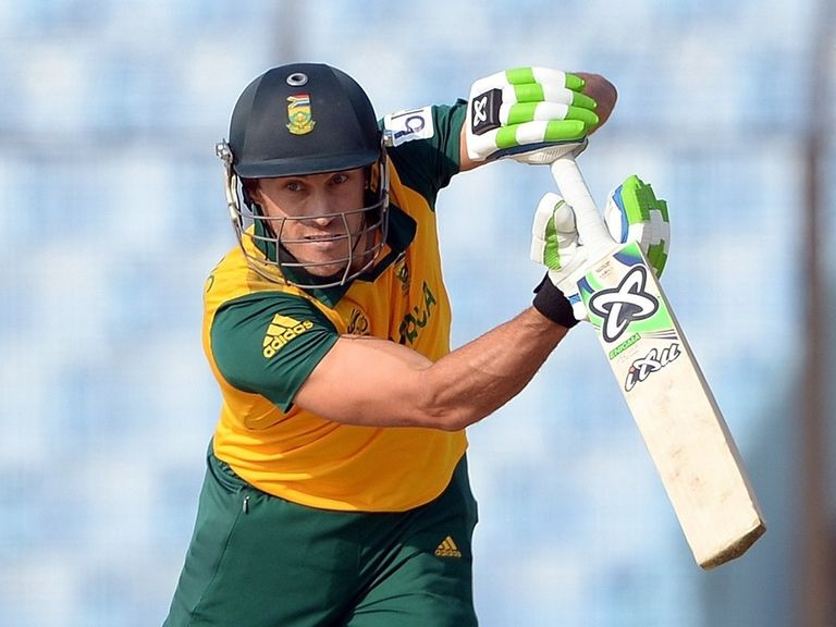 Faf du Plessis: Fined 40 per cent of match fee