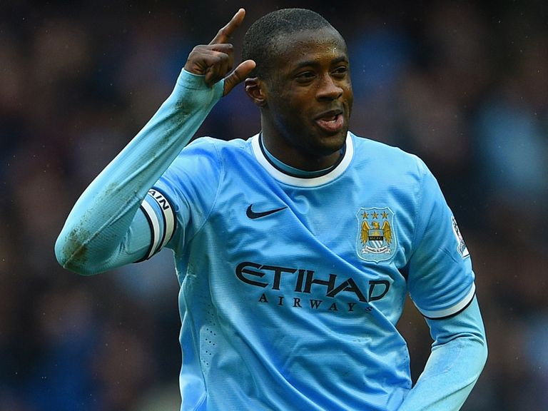 Yaya Toure: Features heavily in our Teams of the Year