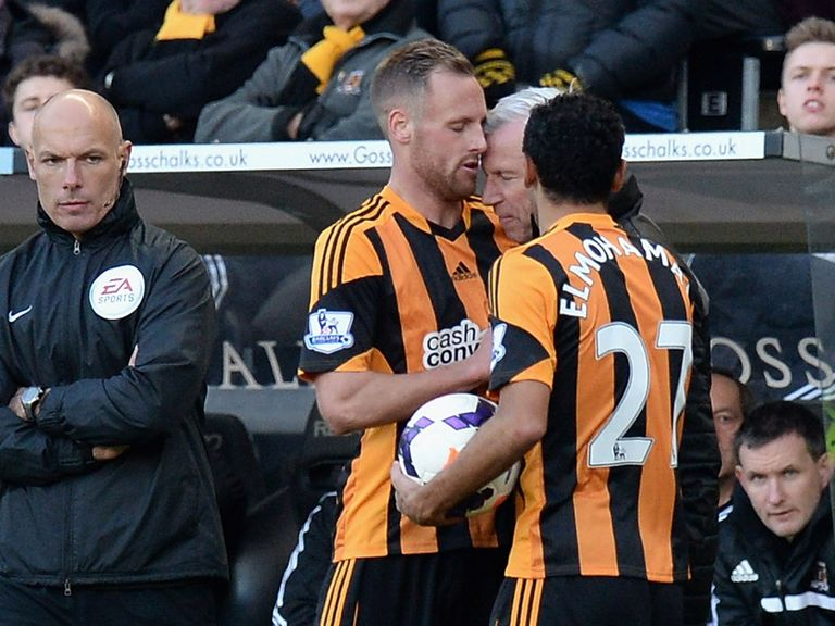 David Meyler: Praised for not reacting to Alan Pardew