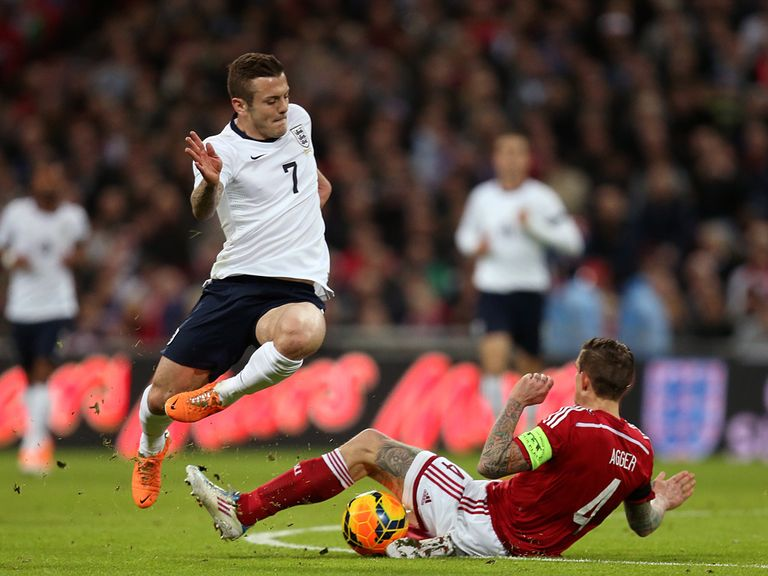 Jack Wilshere: Will wear the number seven shirt in Brazil