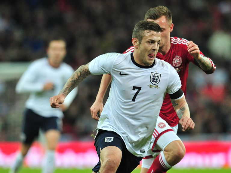 Wilshere: Hoping to be on the plane to Brazil