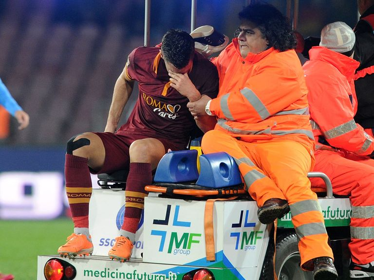 Injury heartache for Kevin Strootman