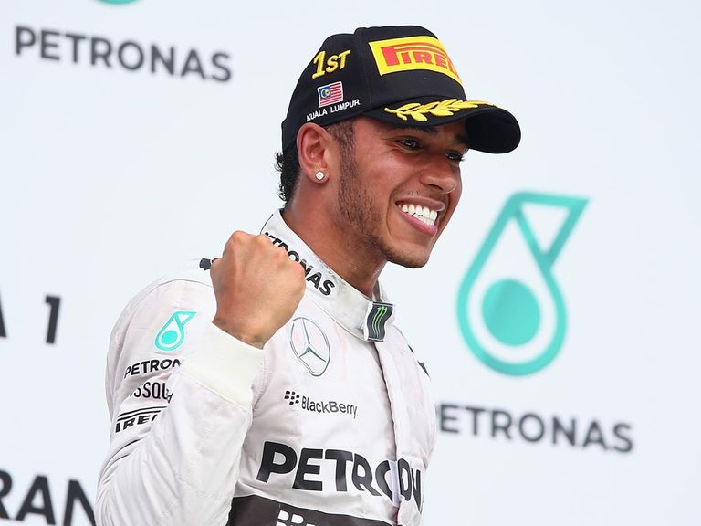 Lewis Hamilton: First win at Sepang