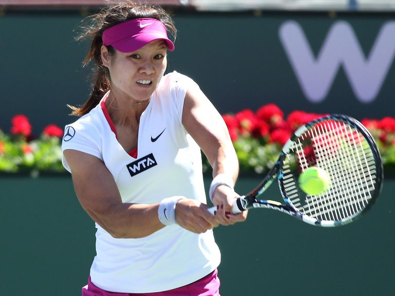 Li Na: Top seed was a straight-sets winner in Indian Wells