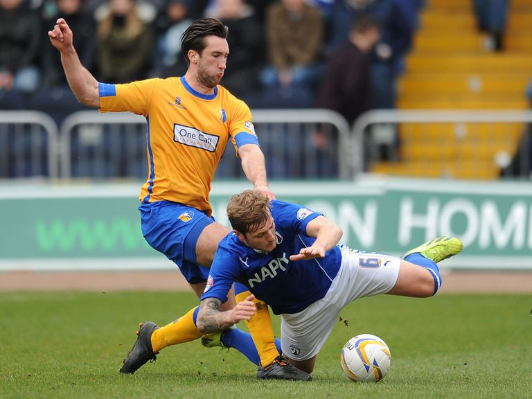 Chesterfield drew 0-0 with Mansfield