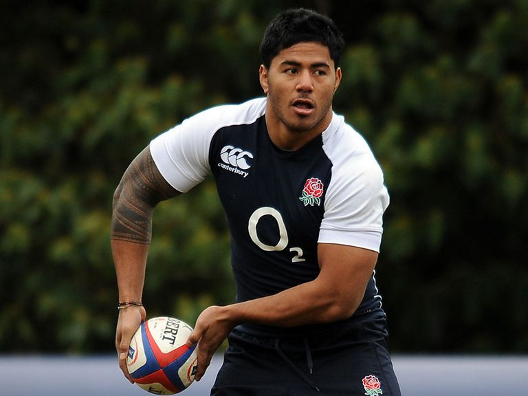 Manu Tuilagi: Named on the bench by England