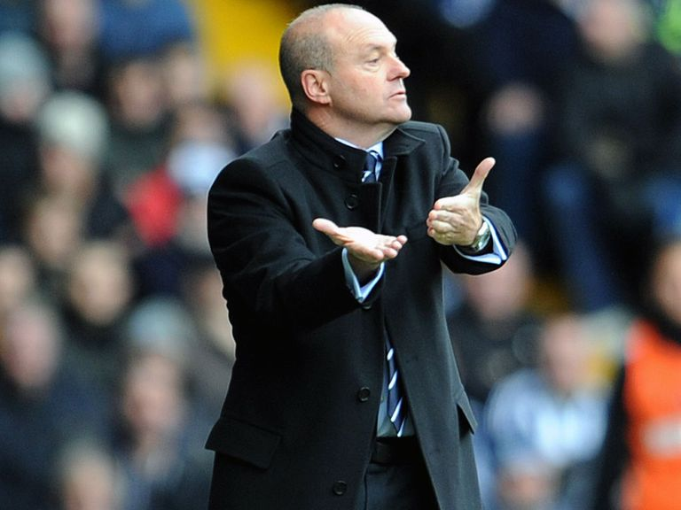 Mel: Just one win since taking over at West Brom