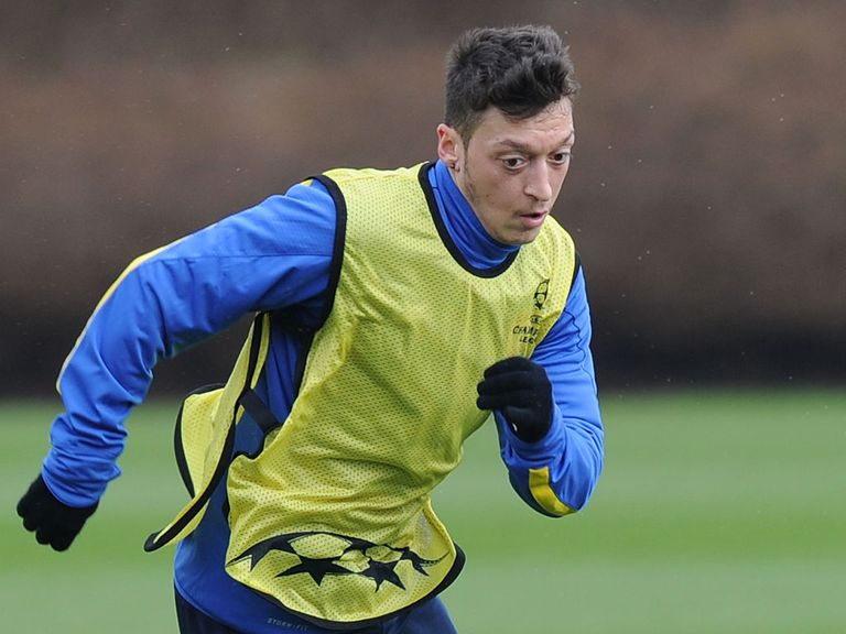 Mesut Ozil: Will miss North London derby