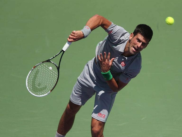 Novak Djokovic: Through to the final in Miami