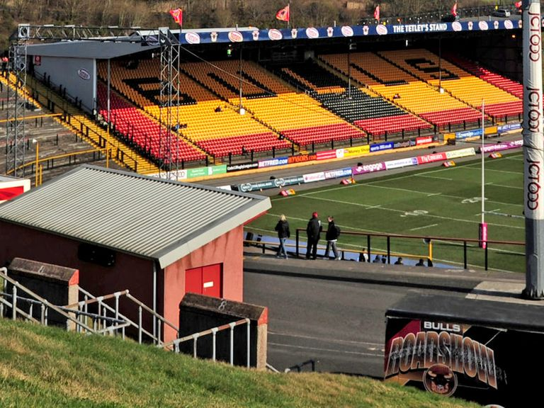 The Odsal atmosphere should help Bradford against Warrington