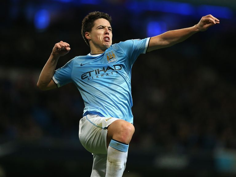 Nasri: Wants to repay Manuel Pellegrini's faith in him