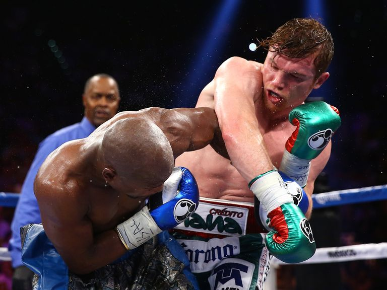 Saul Alvarez: Can win his Mexican 'derby' this weekend