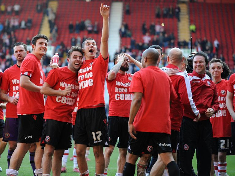 Sheffield United are heading for a Wembley FA Cup semi-final