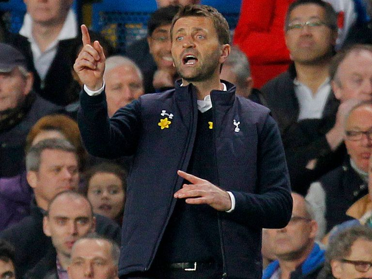 Tim Sherwood: Will not be gung-ho at Anfield on Sunday