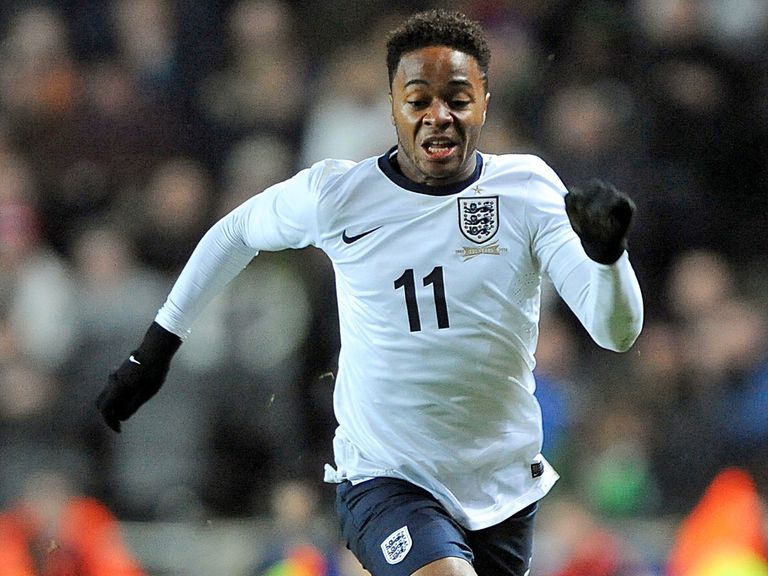 Raheem Sterling: Working hard to make his mark for England