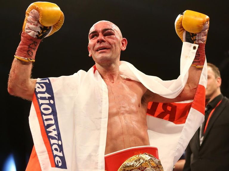 Stuart Hall: Confident of defending his title