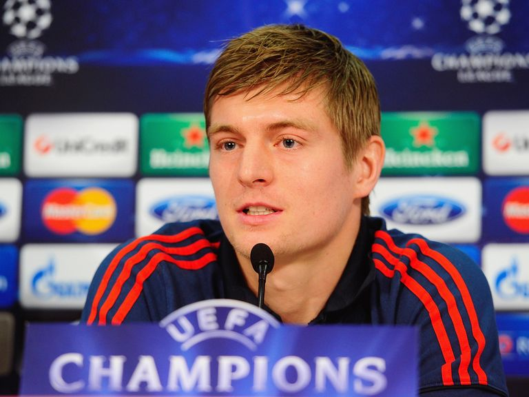 Toni Kroos: Set to stay at Bayern Munich