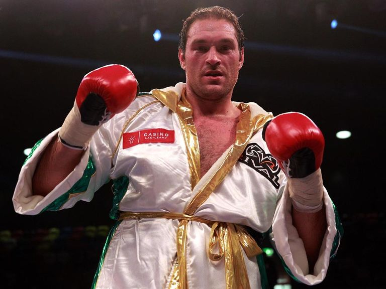 Tyson Fury: Still intends to fight this weekend