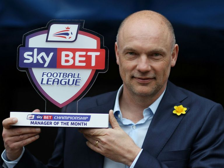 Uwe Rosler: Sky Bet Championship Manager of the Month for February