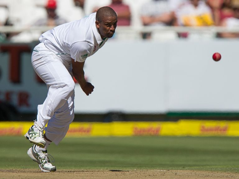 Vernon Philander: Has been fined for ball tampering