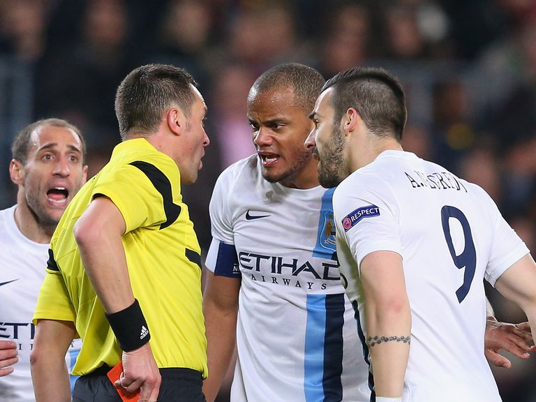 Kompany: Disappointed after Man City's exit to Barcelona
