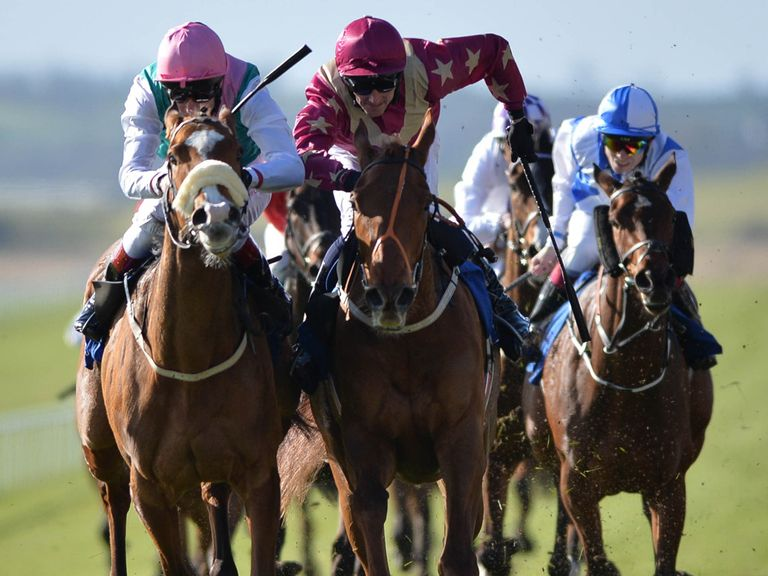 Odeliz (right): Could be the one to land Epsom's opener on Friday