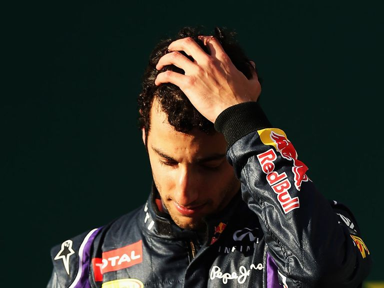 Daniel Ricciardo: Disqualified from the Australian Grand Prix