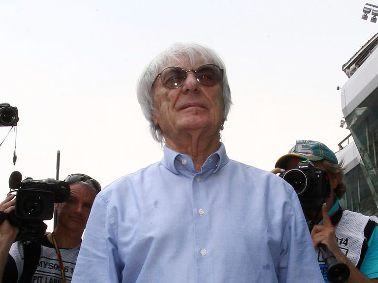 Bernie Ecclestone: Goes on trial on Thursday