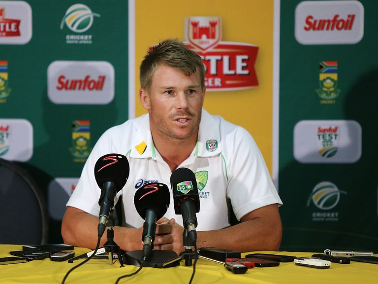 David Warner: 'I wish Trott the best'