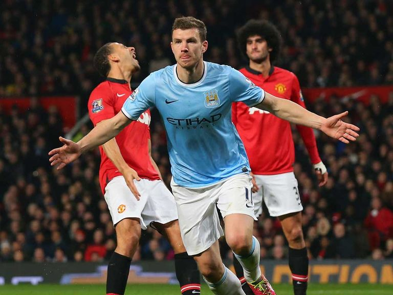 Edin Dzeko could be in for an enjoyable evening