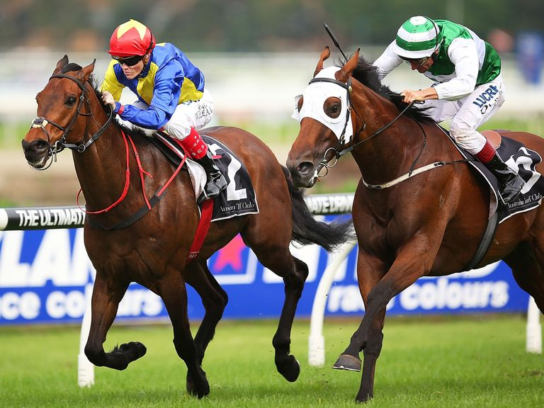 Gordon Lord Byron: Winner at Rosehill