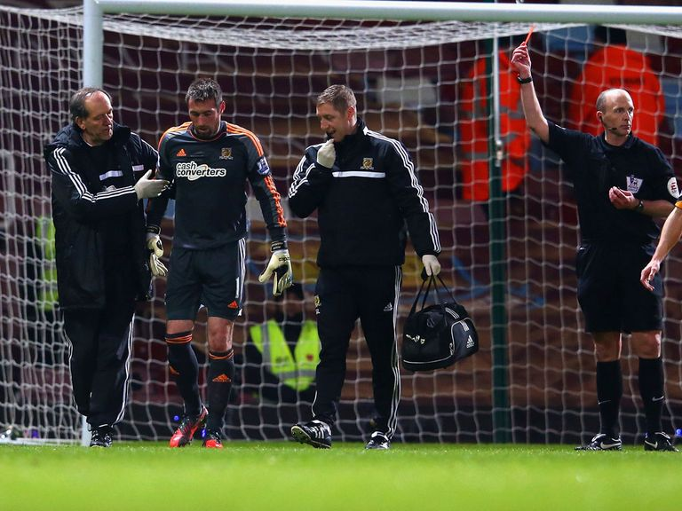 Allan McGregor: Will spend a night in hospital