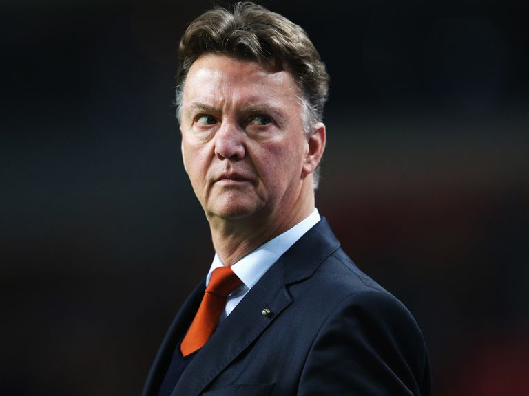 Louis van Gaal: Tipped to take over at Spurs