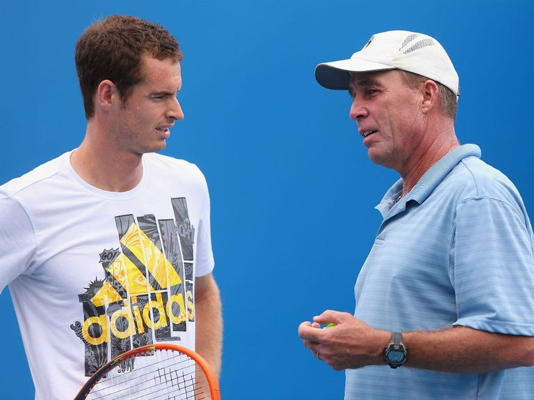 Andy Murray and Ivan Lendl: Went their separate ways in March