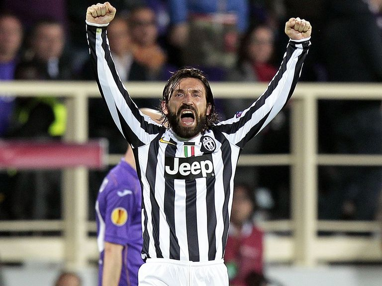 Andrea Pirlo: Set to stay at Juventus
