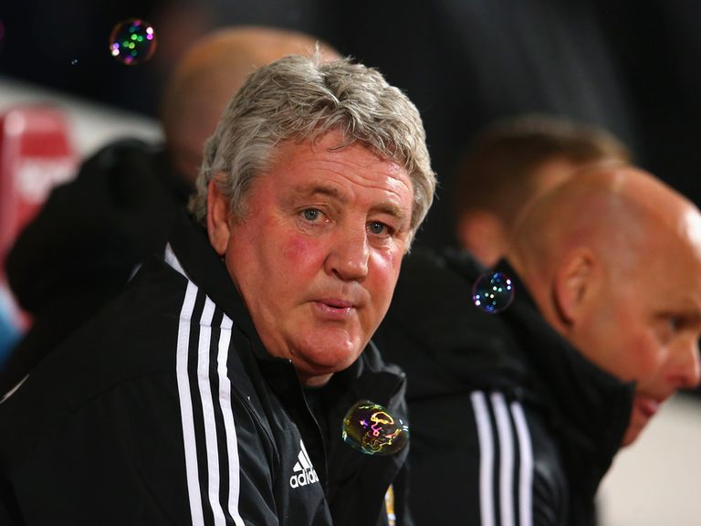 Steve Bruce: Endured a frustrating night at Upton Park
