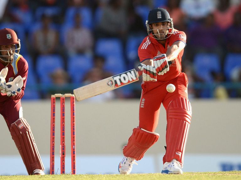 Bopara: Picked to finish off the England innings