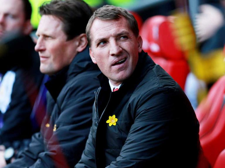 Brendan Rodgers: Wants his side to keep on attacking
