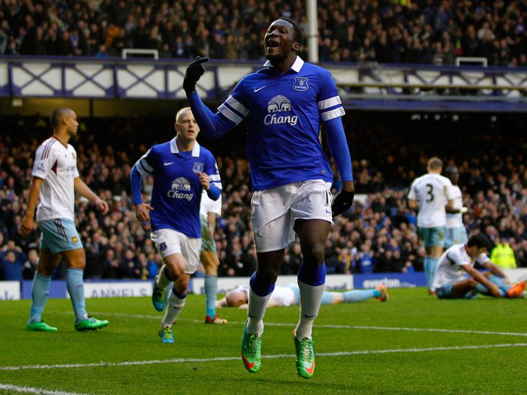 Romelu Lukaku: Will see out the season on loan at Goodison Park