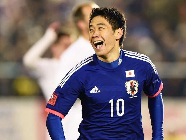 Shinji Kagawa: Manchester United midfielder heading for Brazil