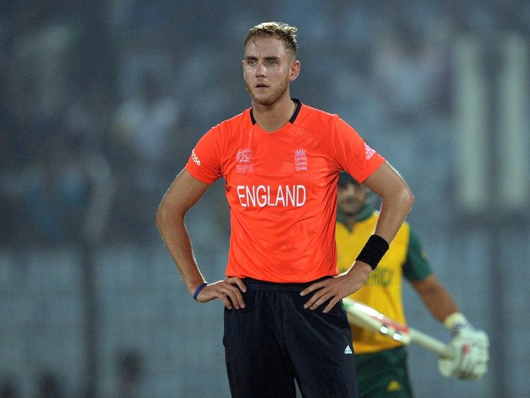 Stuart Broad: Knee problem sees him miss ODI clashes with Sri Lanka