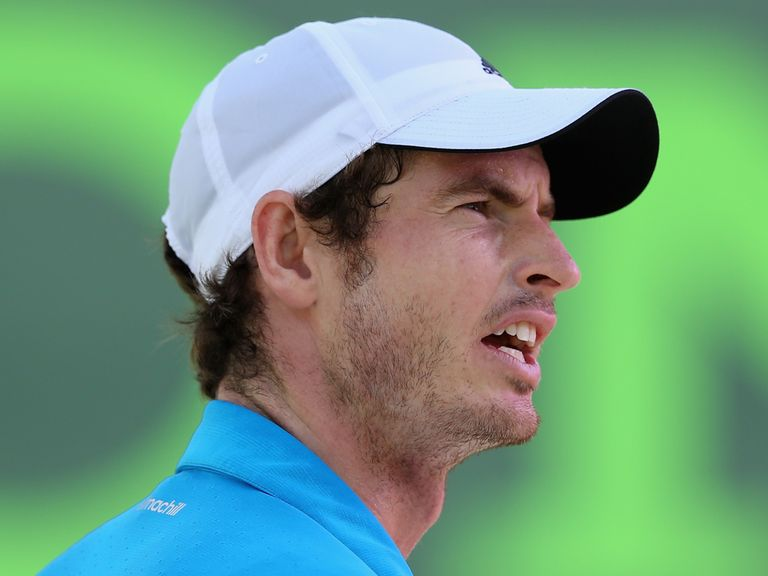 Andy Murray: Due to play Seppi on Friday but has a stomach bug