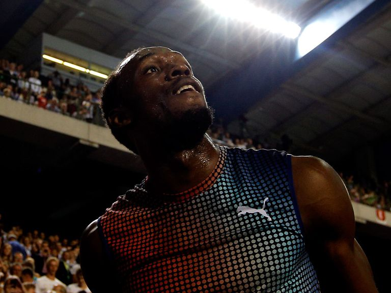 Usain Bolt: Set to compete at the Commonwealth Games