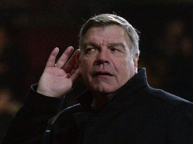 Sam Allardyce: Believes he is doing a good job at West Ham
