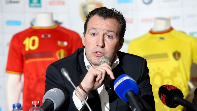 Marc Wilmots: Pleased with Belgium progress