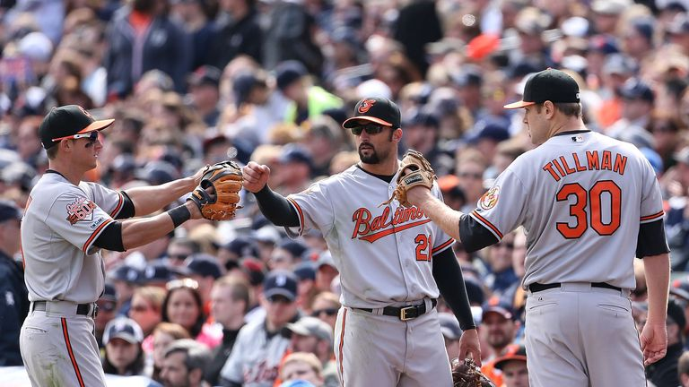 Baltimore's Chris Tillman outpitched Justin Verlander in Sunday's win over the Tigers