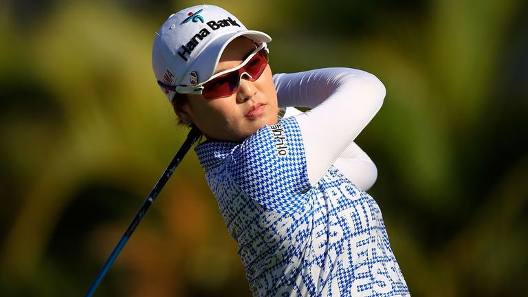 So Yeon Ryu: One of three South Korean women at the top of the Lotte leaderboard